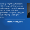 Passport Title Featured by reQuire